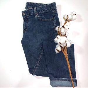 Loft Modern Slim Medium Wash Denim Jeans